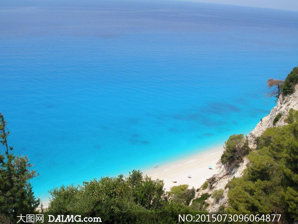 关键词: 高清大图图片素材摄影自然风景风光大海海水海面海景湛蓝