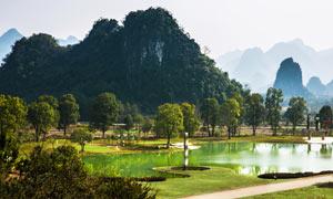 桂林山水美丽风光摄影图片素材