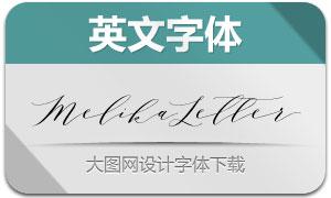 MelikaLetter系列六款英文字体