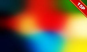 五彩斑斓光效主题图层叠加高清图片