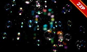梦幻泡泡高光图层叠加高清图片集V2