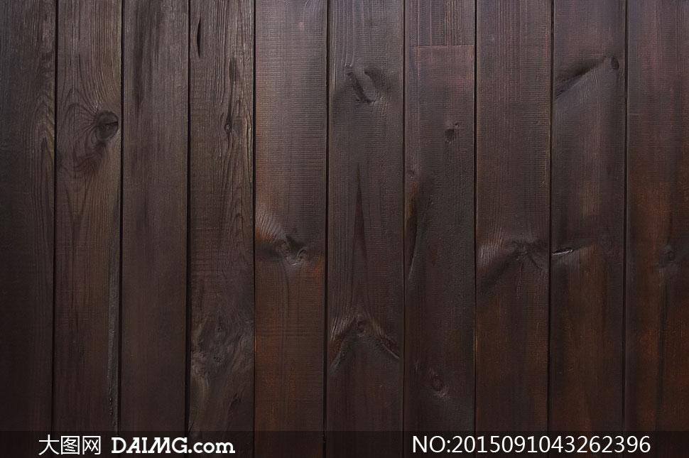 深褐色的木板纹理背景摄影高清图片 - 大图网设计素材