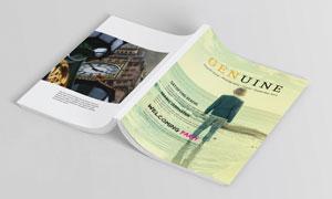 旅行摄影时尚杂志版式设计矢量素材