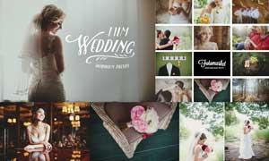 40款婚礼照片电影胶片效果LR预设