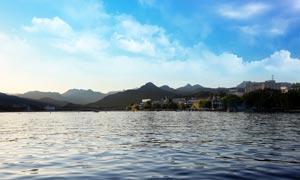 北京雁栖湖美景摄影图片