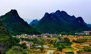 桃花湾生态旅游度假区摄影图片