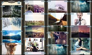 40款风景照片后期艺术唯美效果PS动作