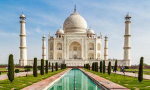 印度泰姬陵高清摄影图片