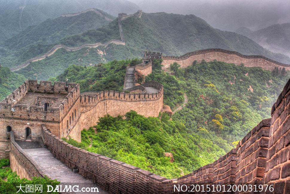 (原创)屹立长城看天下: - liangshange - 一线天