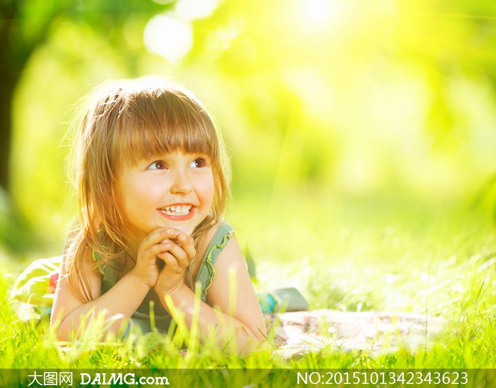 高清大图图片素材摄影人物小孩小女孩儿童小朋友小萝莉齐刘海儿阳光
