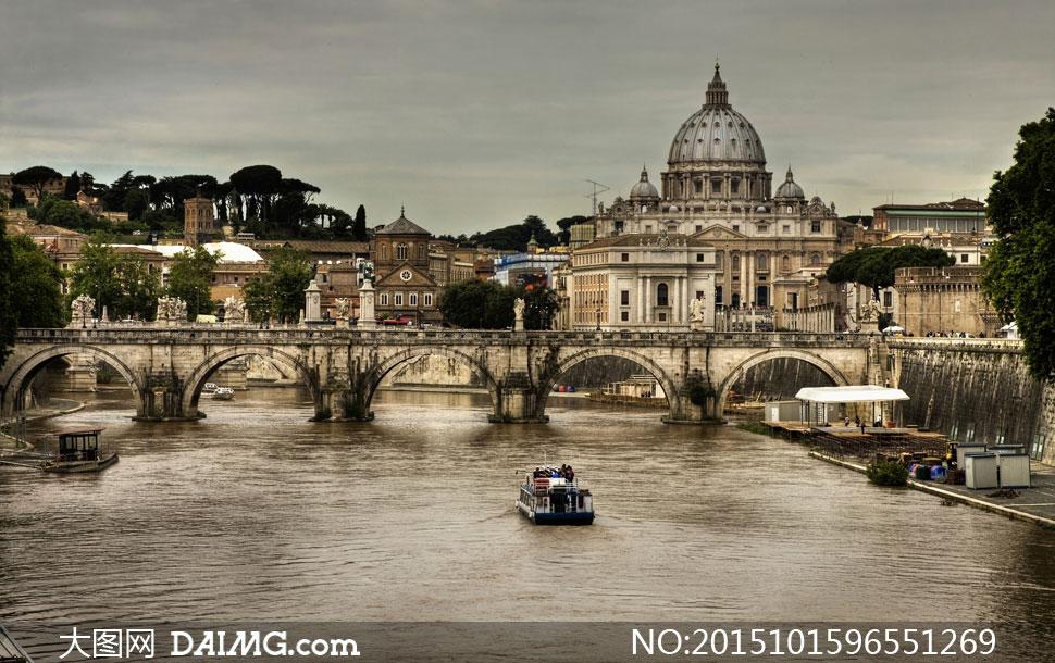 罗马欧式城堡设计素材