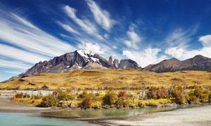 智利百内国家公园风景摄影高清图片