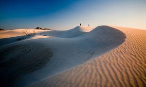 天空与荒芜大漠等风光摄影高清图片