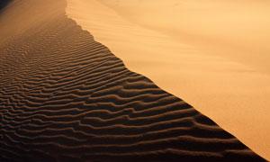 棱角分明沙丘自然风光摄影高清图片