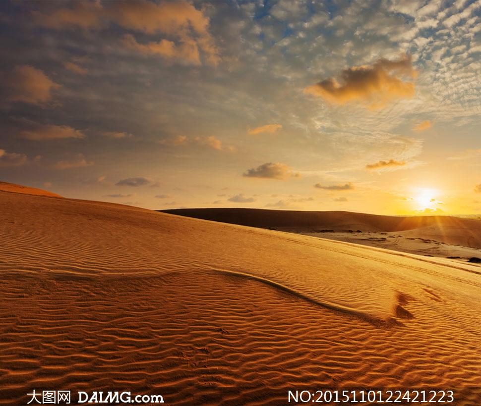 高清摄影图片素材大图自然风景风光大漠沙漠