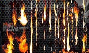 超酷的火焰和火苗PSD分层素材