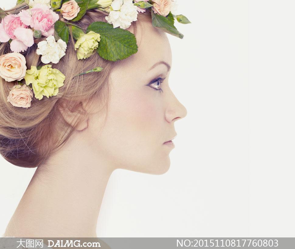 高清摄影图片素材大图人物美女女人女性写真模特