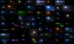 63张镜头光晕和星光背景图片素材