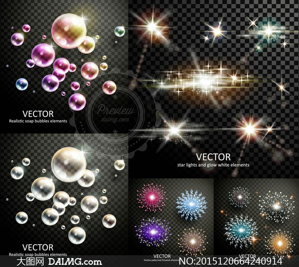 泡等创意矢量素材