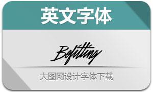 Befitting系列三款英文字体