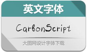 CarbonScript(手写英文字体)
