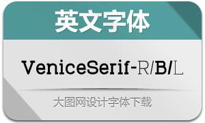 VeniceSerif系列三款英文字体
