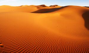 杳无人烟沙漠自然风光摄影高清图片