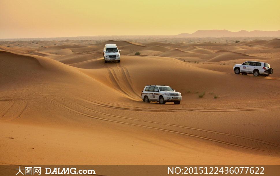高清摄影图片素材大图自然风景风光天空黄色沙丘沙漠