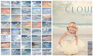 Florabella系列天空云朵云彩图片素材