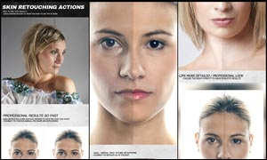 大师级人物皮肤磨皮修饰PS动作