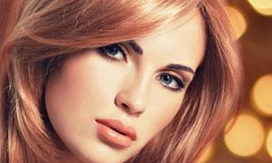 靓丽美女模特人物特写摄影高清图片