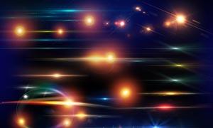 超酷的梦幻星光装饰PSD分层素材