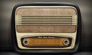 复古风格的收音机图标PS教程素材