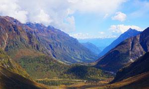 西藏多雄拉山口摄影图片
