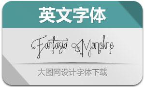 Fantasia系列两款英文字体