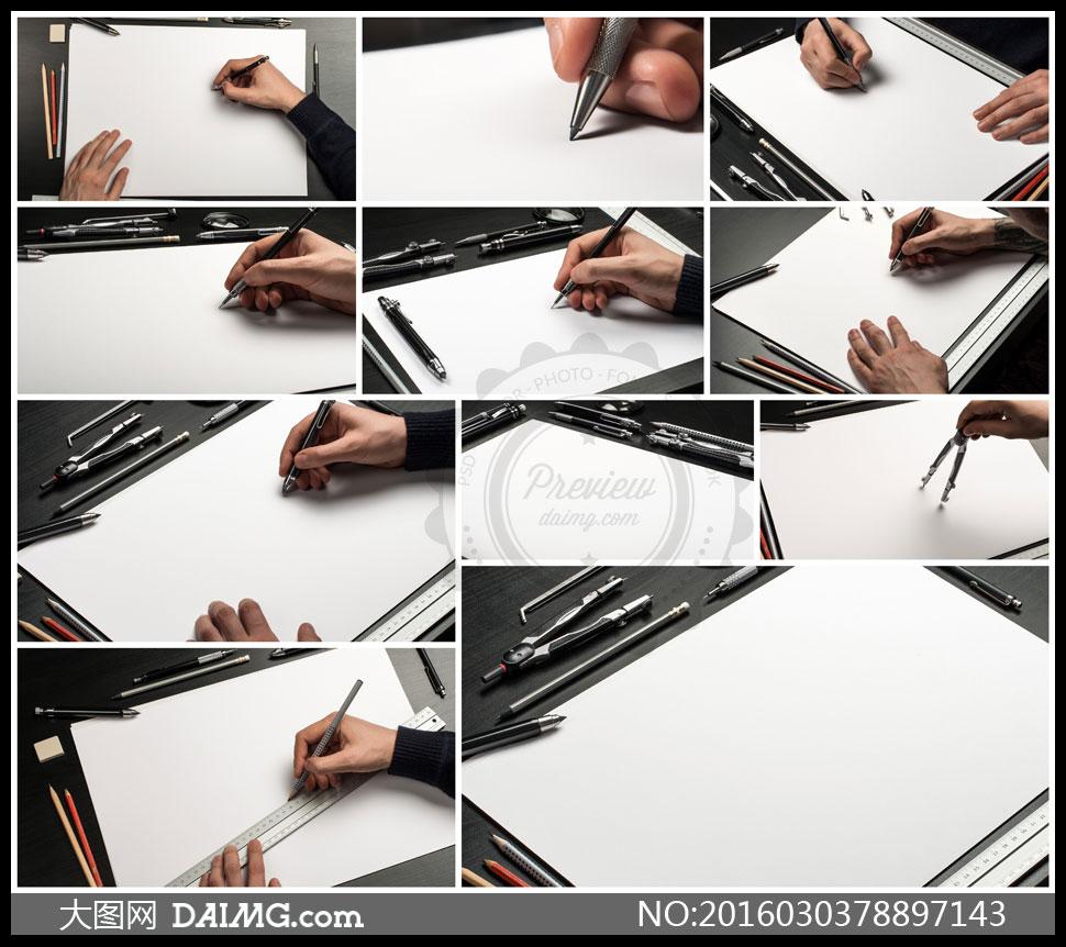 方形产品设计手绘