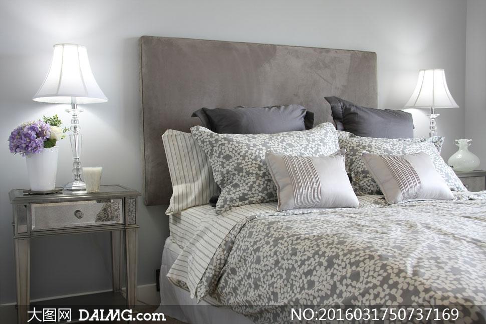 大图首页 高清图片 环境设计 > 素材信息          欧式复古范儿卧室