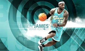 时尚的篮球海报设计PS教程素材