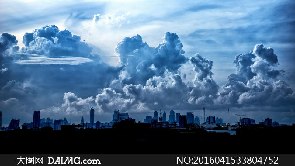 词: 高清大图图片素材摄影自然风景风光天空云彩云层多云城市建筑物