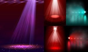 炫丽效果舞台聚光灯主题矢量素材V3