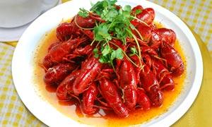 十三香龙虾美食菜品摄影图片