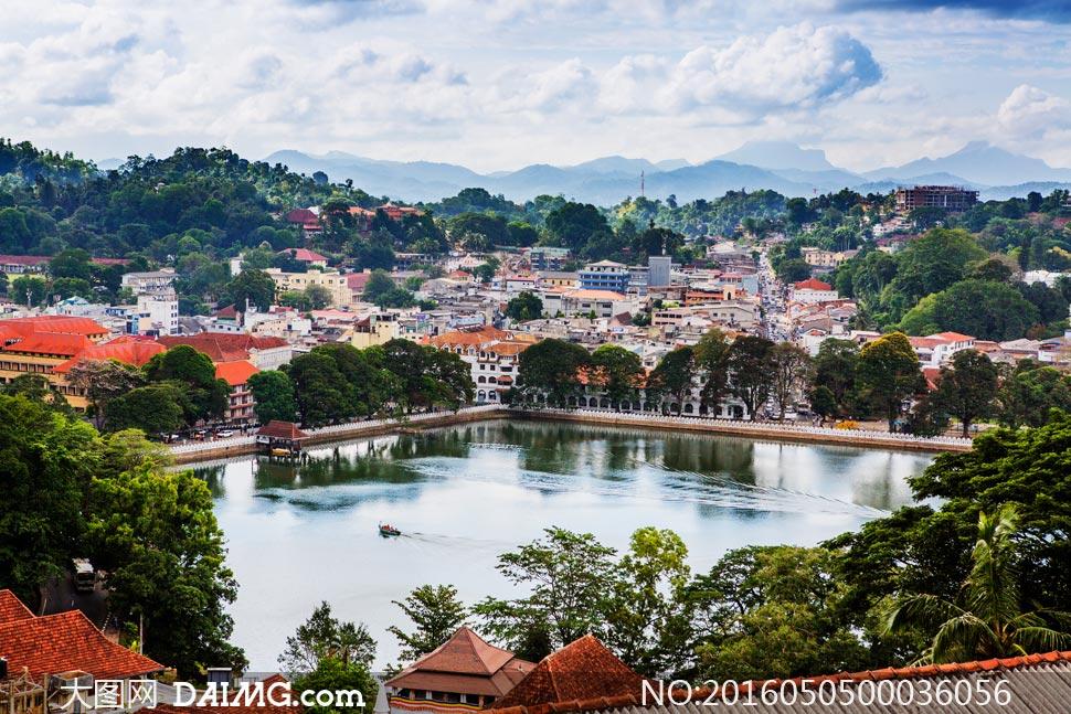 斯里兰卡城市旅游风光摄影图片