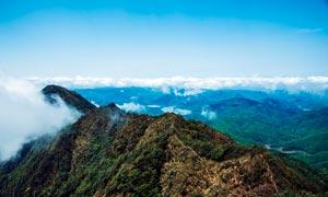 韶关龙斗峰山顶美丽景色摄影图片