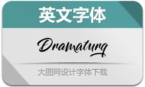 Dramaturg系列四款英文字体