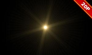 光源光晕等主题高光溶图背景素材V1
