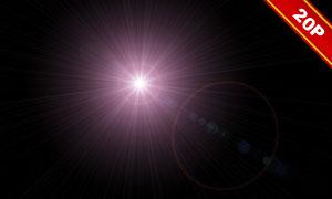 光源光晕等主题高光溶图背景素材V2