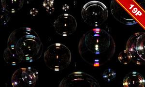 梦幻泡泡高光图层叠加高清图片集V8