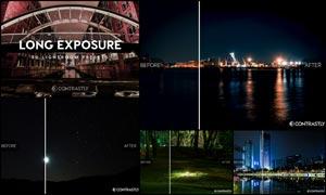 30款夜景照片长曝光特效LR预设