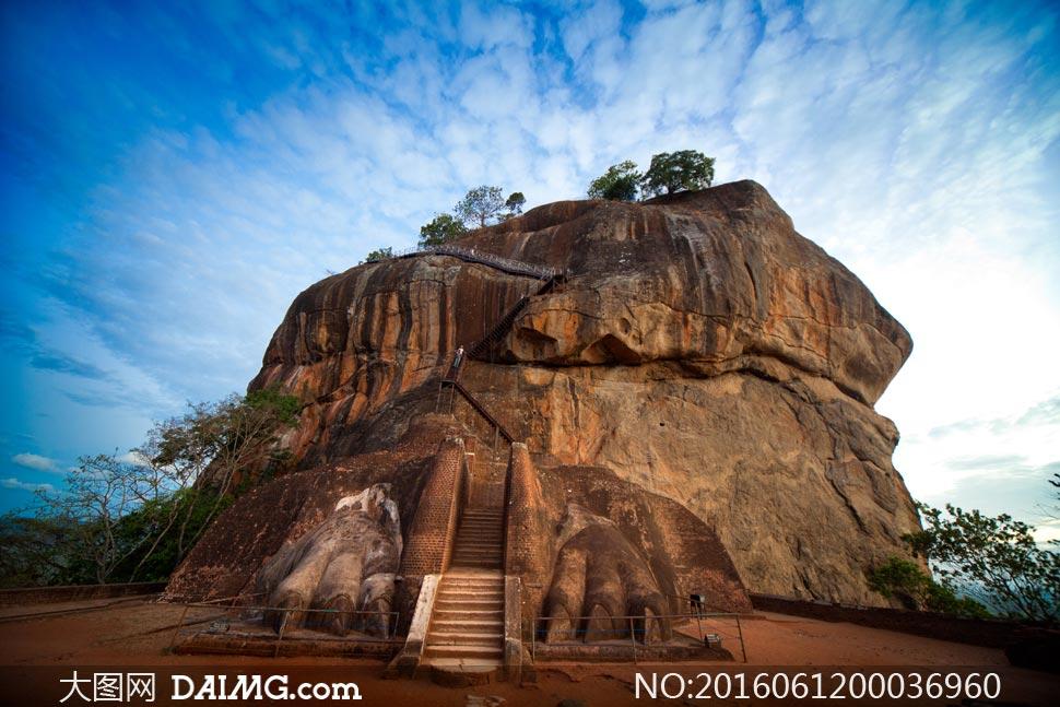 斯里兰卡旅游景点美景摄影图片