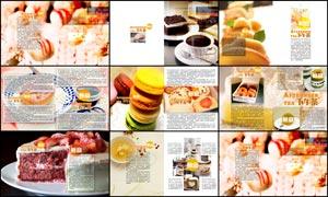 下午茶美食画册设计PSD源文件